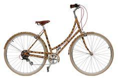 Okay cheetah print bike, okay.