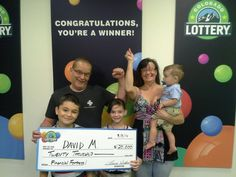 David M. and family won $20 grand, and are looking forward to fixing up their flood-ravaged home. Congratulations!