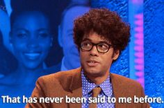Richard Ayoade is my spirit animal - 17 times when Richard Ayoade was every one of us