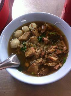 Yummy pork soup!