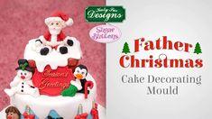 Silicone Mould Deep Santa Father Christmas Hat Sugarcraft Fondant Chocolate Fimo