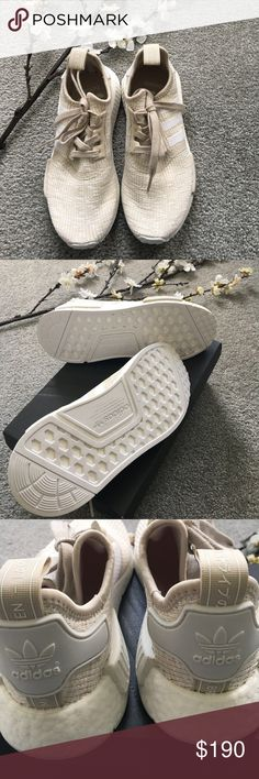 Authentic NMD's women's size 6.5 Women's 6.5. Purchased from Lady Footlocker. No receipt, no tags. New and never worn. Will come with original box. Please research your size before purchasing!! Primeknit runs half to a full size bigger. adidas Shoes Sneakers