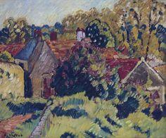 The Village. Louis Valtat