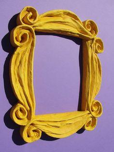El taller de Ire: Cómo hacer el marco amarillo de Friends - Clon-Arte #6