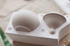 Fabulös inspiration: Gjuta keramik