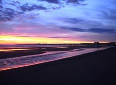 "Puerto Madryn, Argentina — by Vicki Samborski. ""There's a sunrise and a sunset every single day and they're absolutely free. Don't miss so many of them."" #beach"