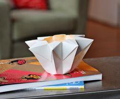 Make an origami star lantern | How About Orange