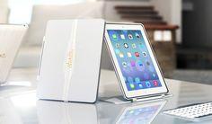 EON : The Ultimate iPad Case • Keyboard • Stand by Regen Designs — Kickstarter.  Luxury Performance iPad case. Featuring high tech keyboard, carbon fiber shell, and a ultra sleek design.