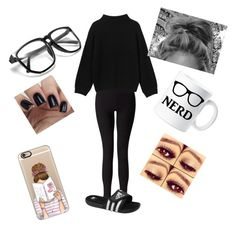 """""""Lazy day"""" by bluejay100 on Polyvore featuring Miss Selfridge, adidas, Monki and Casetify"""