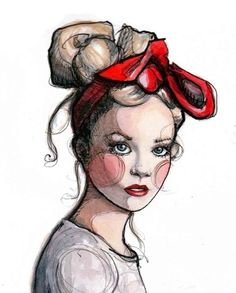 "Print of original illustration ""DESIGNLOVEFEST""  *love*"