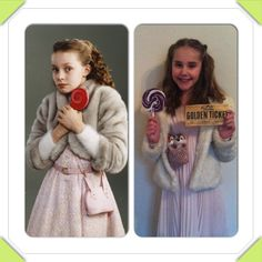 Charlie and the Chocolate Factory Verruca Salt costume for World Book Day