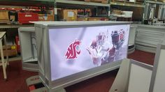 Lighted and Branded counters for WSU!