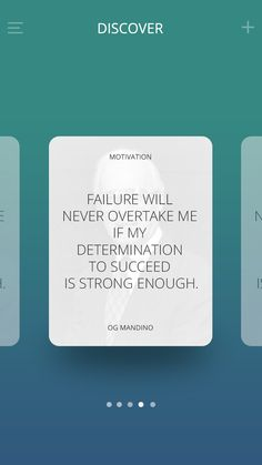 Quotes App on Behance