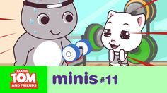 talking tom and friends minis workout time episode 11 Minis, Toms, Youtube Kanal, Cool Kids, Best Friends, Family Guy, Workout, Cool Stuff, Fun