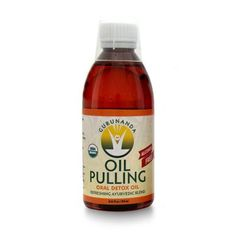GuruNanda Pulling Oil made of natural oils helps to improve the oral health and remove the toxins of the body.