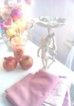 Granatapfel trifft Engel