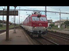 EC 271 Avala mimoriadne s obyčajnými rýchlikovými vagónmi v Nových Zámkoch Train, Youtube, Strollers, Trains, Youtube Movies