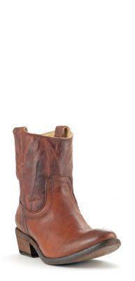 Womens Frye Carson Boots Cognac #76461cog