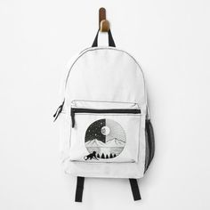 Clecio, MONKEY Backpacks   Redbubble Day Backpacks, Colorful Backpacks, Ladies T Shirt Design, Black And White Backpacks, Right Meow, Black And White Design, Designer Backpacks, Herschel Heritage Backpack, Black Girl Magic