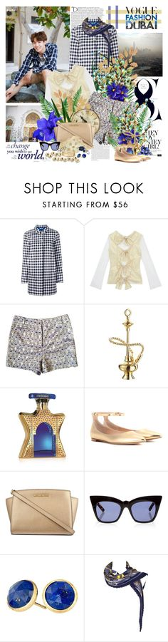 """Hey sunshine"" by purplecherryblossom ❤ liked on Polyvore featuring Balmain, Woolrich, Finery London, Richard Nicoll, Jet Set Candy, Bond No. 9, Gianvito Rossi, MICHAEL Michael Kors, Pared and Marco Bicego"