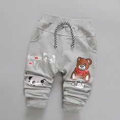 Mr Panda Bear Cotton Pants from kidspetite.com!  Adorable & affordable baby, toddler & kids clothing. Shop from one of the best providers of children apparel at Kids Petite. FREE Worldwide Shipping to over 230+ countries ✈️  www.kidspetite.com  #newborn #pants #infant #clothing #trousers #boy #baby