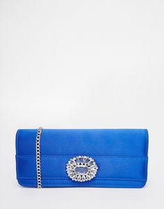 Carvela+Jewelled+Envelope+Clutch+Bag