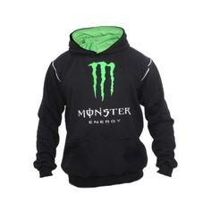 Moletom Blusão Casaco Monster Energy - Fox Dc Alpinestars - R$ 85,00... ❤ liked on Polyvore