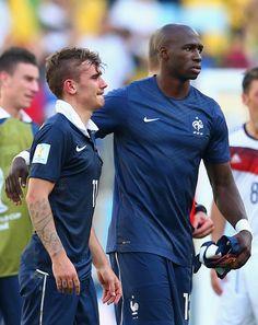 Antoine Griezmann - France v Germany: Quarter Final - 2014 FIFA World Cup Brazil
