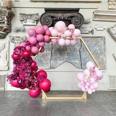 Saying I Do With Bubblegum Balloons Firstly, Congratulations! We spend all day everyday helping couples to bring their wedding dreams to life and know just how special this time is. Balloon Installation, Balloon Backdrop, Floral Backdrop, Balloon Columns, Balloon Wall, Balloon Garland, Balloon Decorations, Birthday Party Decorations, Wedding Decorations