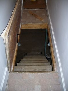 68 best trap door images basement stairs basement stairway attic rh pinterest com