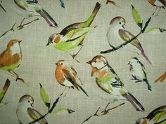 68 Best Birds Of The Feather Flock Together Bird Fabrics Images