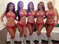 Solangel Cossío, Marian Cantú, Jackeline Arroyo, Liliana Lagos y Paola Durante.