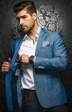 JUST IN - AU NOIR - FASHION BLAZERS - NEWMAN More blazer #menstyle, style and fashion for men @ http://fashionshirtboutique.com/collections/blazers/products/just-in-au-noir-fashion-blazer-newman?variant=20490641095 #AUNOIR #Mensfashion #Blazers #FASHIONBLAZERS