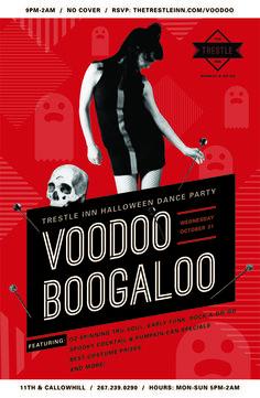 Halloween Dance Party: Voodoo Boogaloo