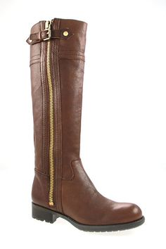 Panko Riding Boots. Love the zipper, easier to tuck in your jeans.