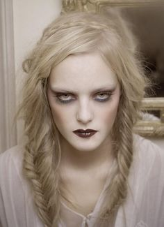 women's ghostly makeup - Google Search
