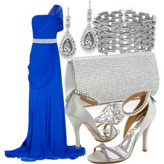 At the Oscars in Jason Wu, created by kimberphoto10 on Polyvore