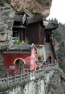 Taoist Monastery at Mount Wudang (武当山). Listed by UNESCO as World Cultural Heritage Site in 1994.