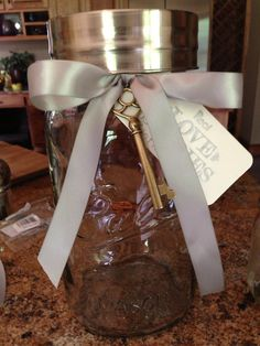 Extra Large Gallon Wedding Mason Jar Guest Book Advice Cards- Decorated to your specification or as seen on Etsy, $45.99