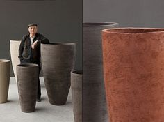 Contemporary Ceramic Pots by Atelier Vierkant | Home Design and Decor