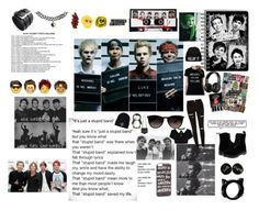 """""""Day #1 Photo of Favorite Band"""" by punksandrebel on Polyvore featuring Payne, Dr. Martens, Ray-Ban, JFR, Chicnova Fashion, MANGO and Accessorize"""