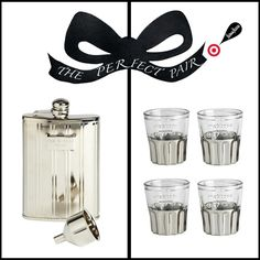Rag & Bone flask and shot glasses. #Holiday24