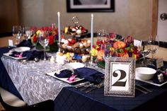 """Preferred Events LLC: TV segment - """"Bring Philly to Mexico"""" theme.  Floral by Hoffman Design Group, Linen by Gala Clothes and Pastries by Classic Cake"""