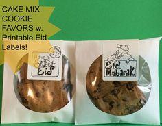 Sketchy Ummah: Cake Mix Cookies [Eid Sketchipe]