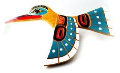 Coast Salish Hummingbird Carving by FaceofNative on Etsy