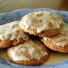 Dessert: Glazed Apple Cookies
