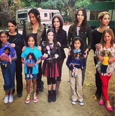 Flashback para a infância das Pretty Little Liars
