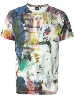 Ps Paul Smith T-shirt Mit Pinselstrich-print - Fiacchini - Farfetch.com