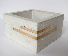 Concrete ashtray by Btons on Etsy