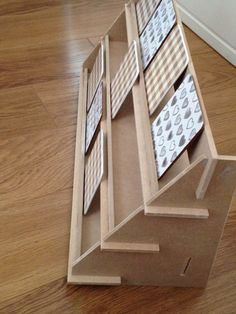 Display Stand - flat pack - ideal for craft fairs! Can be customised.